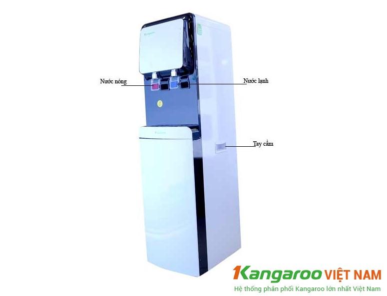 Máy lọc nước nóng lạnh thương hiệu Kangaroo 61A3